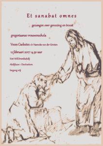 Et sanabat omnes - Gezangen over genezing en troost. Voces Caelestes o.l.v. Hanneke van der Grinten @ St. Willibrordsabdij | Doetinchem | Gelderland | Nederland